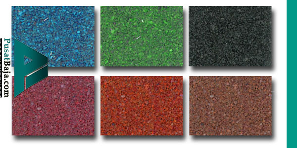 Pilihan Warna Spandek Pasir